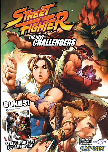 Street Fighter Animated Comic DVD 2 + Street Fighter IV Game