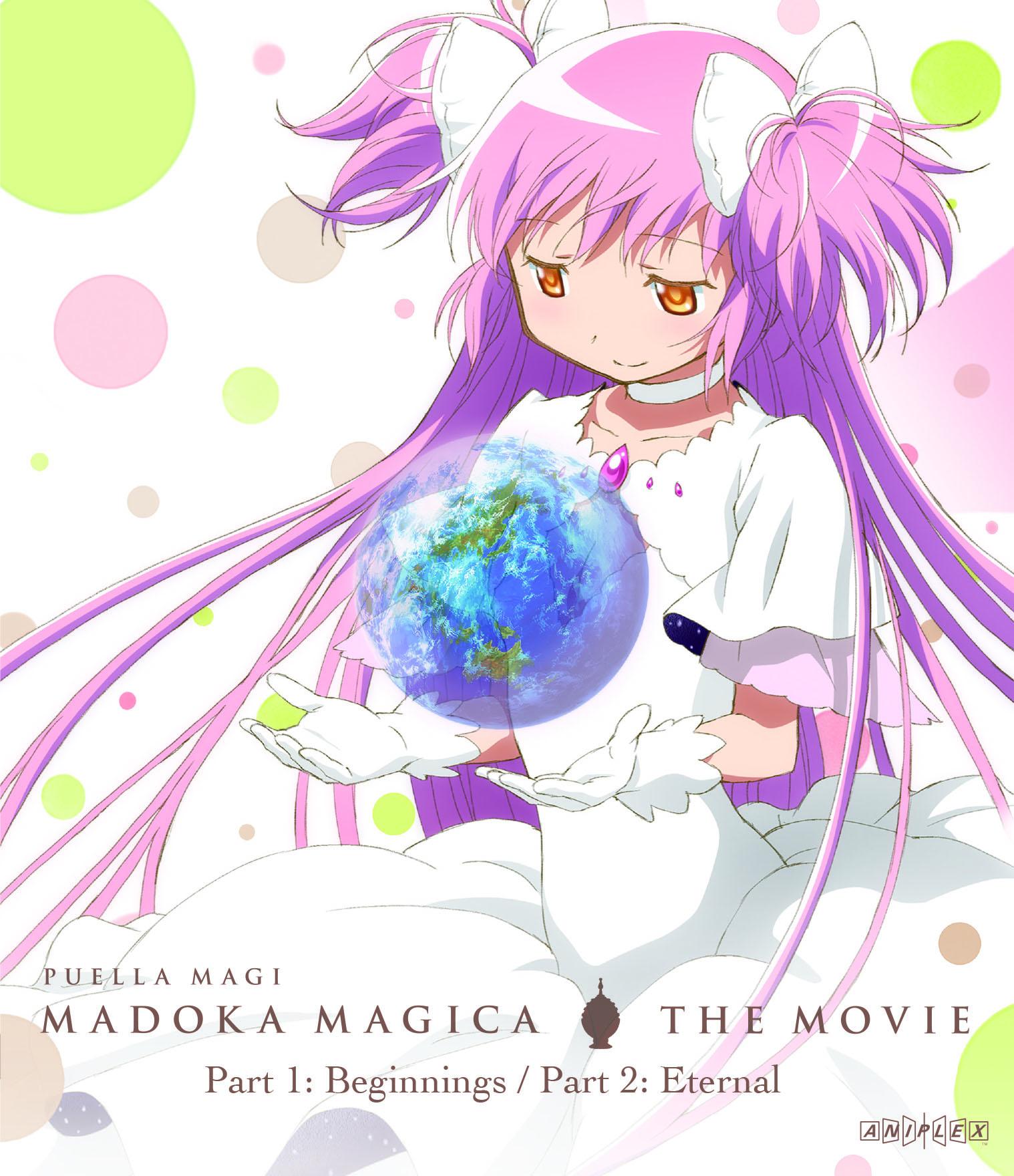 Puella Magi Madoka Magica the Movie Part 1 and 2 Standard Edition Blu-ray