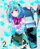 The Asterisk War Volume 2 Limited Edition Blu-ray