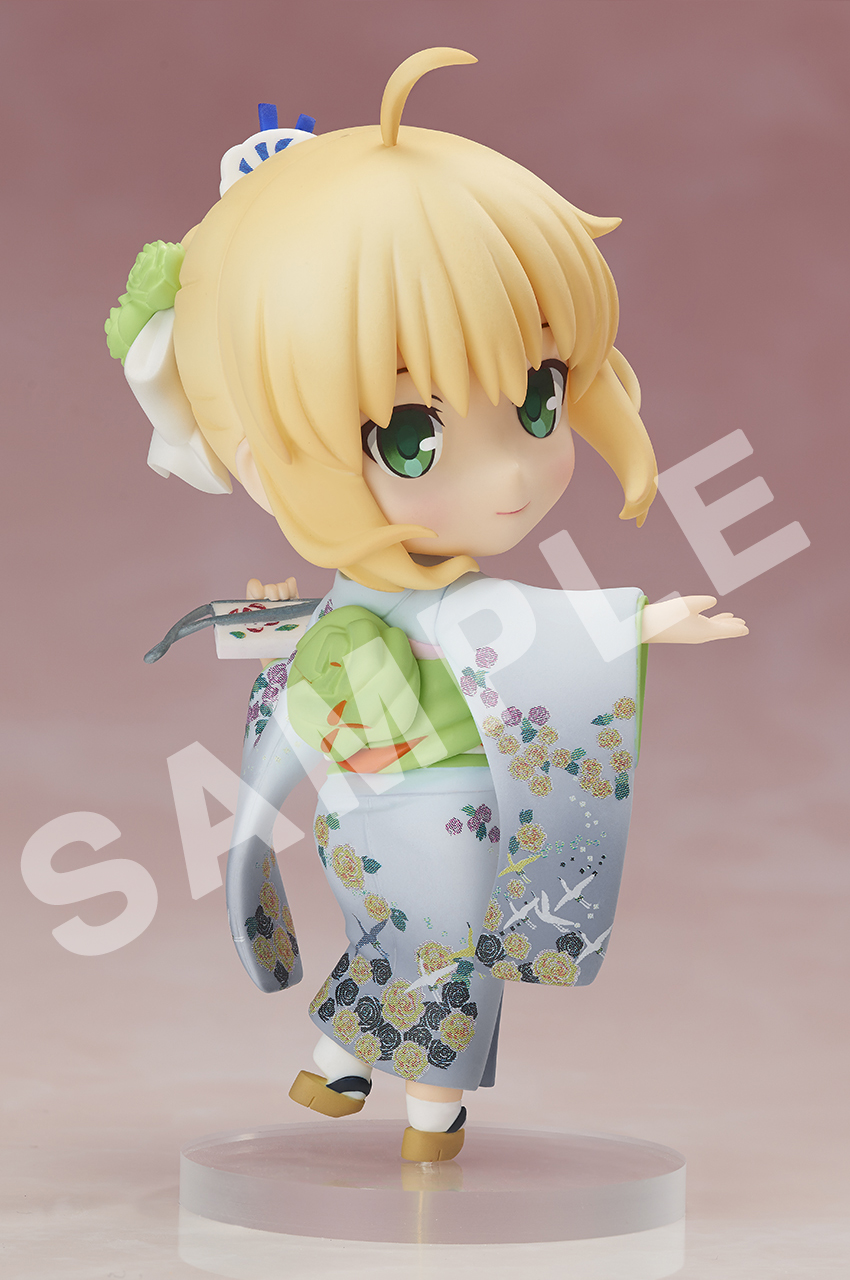 Saber Kimono ver Fate/stay night CHARA FORME PLUS Figure