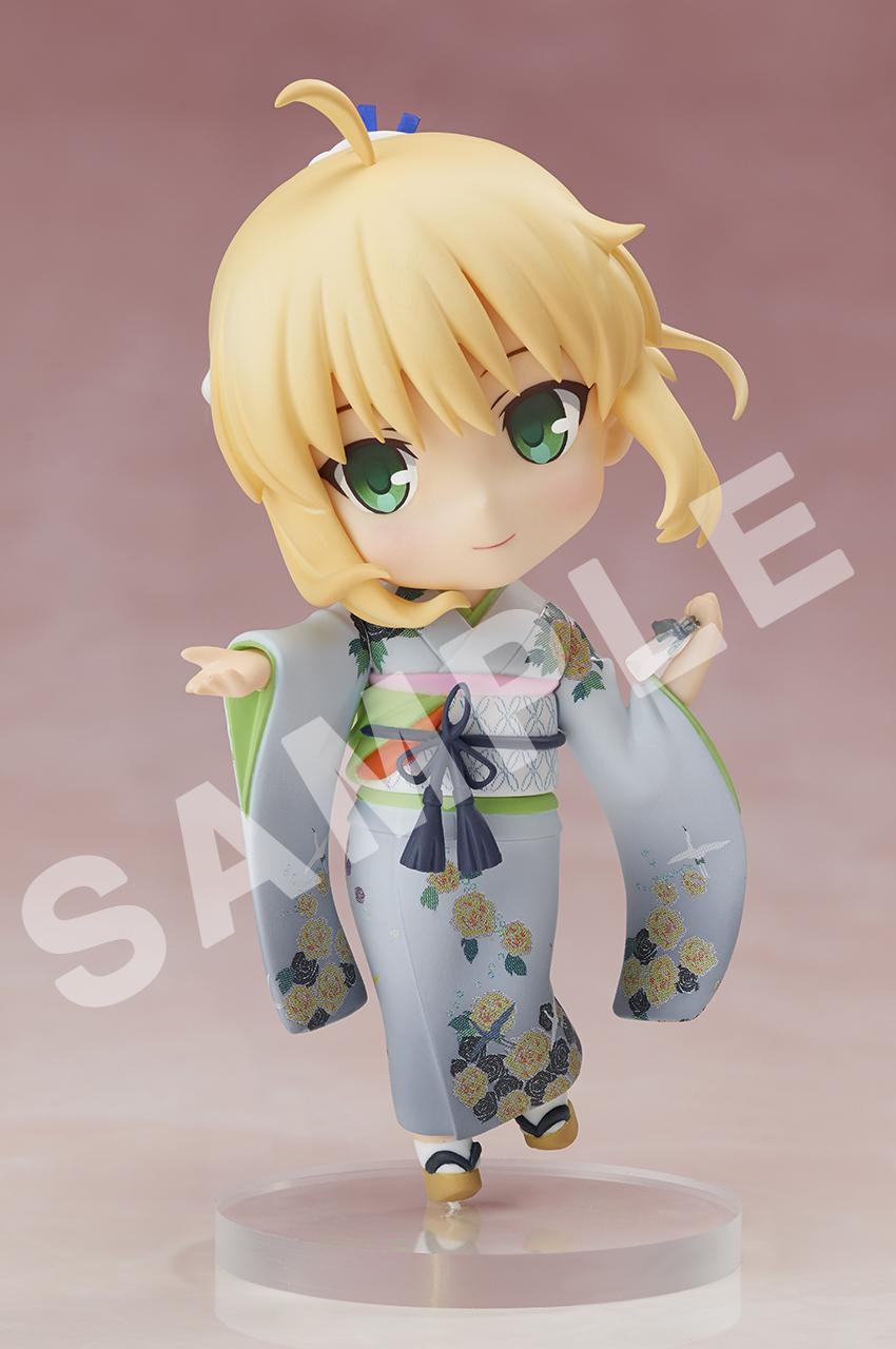 Saber Kimono ver Fate/stay night CHARA FORME PLUS Figure 816546020583