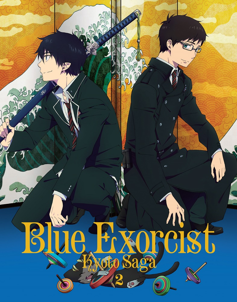 Blue Exorcist Kyoto Saga Volume 2 Blu-ray 816546020699