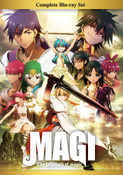 Magi The Labyrinth of Magic Complete Box Set Blu-ray