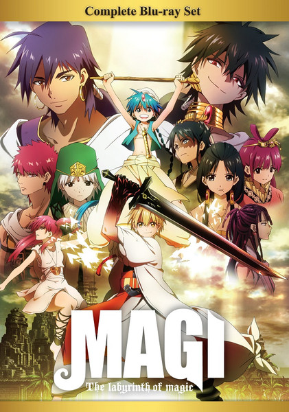 Magi The Labyrinth of Magic Complete Box Set Blu-ray