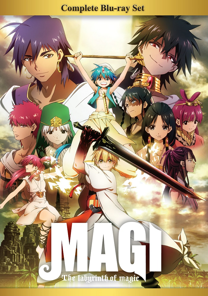 magi the labyrinth of magic complete box set blu