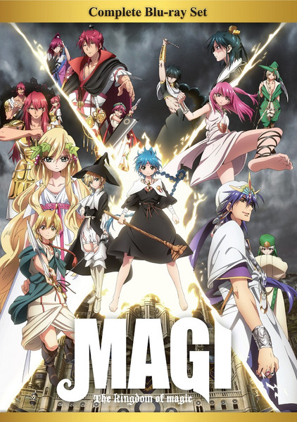 Magi The Kingdom of Magic Complete Box Set Blu-ray