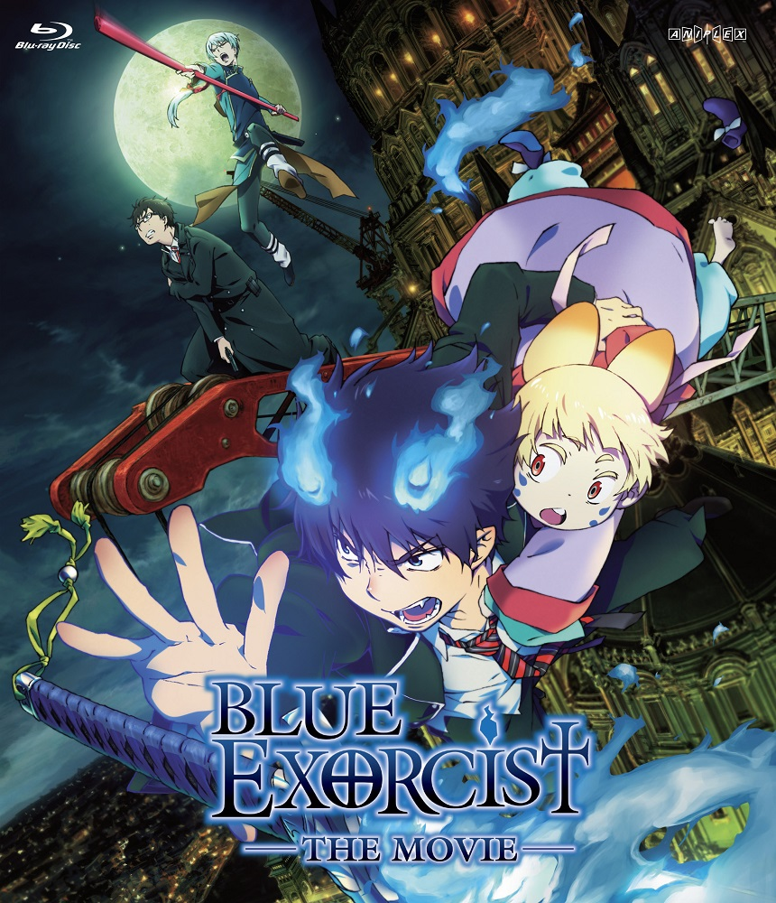 Blue Exorcist the Movie Blu-ray 816546021023
