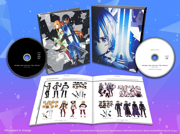 Sword Art Online the Movie Ordinal Scale Limited Edition Blu-ray