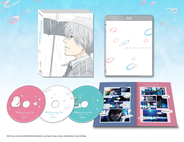 March Comes In Like a Lion Volume 3 Blu-ray