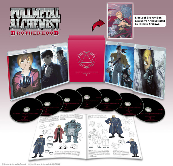 Fullmetal Alchemist Brotherhood Box Set 1 Blu-ray