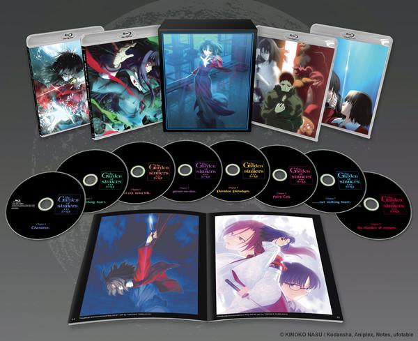 The Garden of Sinners Box Set Blu-ray