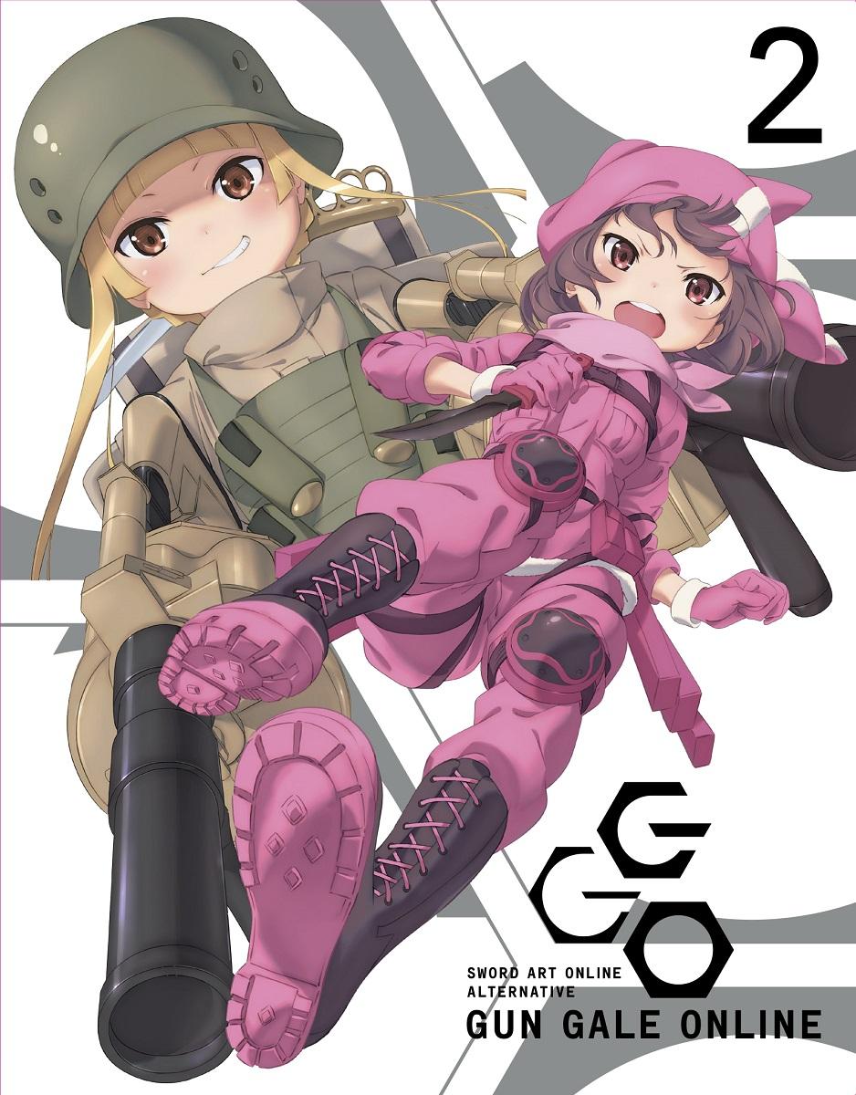 Sword Art Online Alternative Gun Gale Online Blu-ray Volume 2