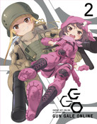Sword Art Online Alternative Gun Gale Online Blu-ray Volume 2