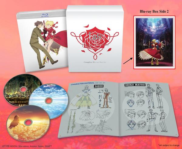 Fate/EXTRA Last Encore Box Set Blu-ray
