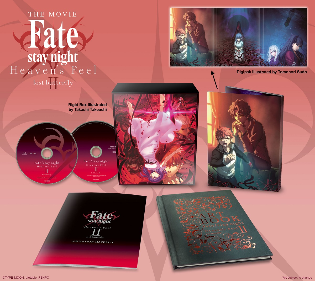 Fate Stay Night Heaven S Feel Ii Lost Butterfly Limited Edition Blu Ray