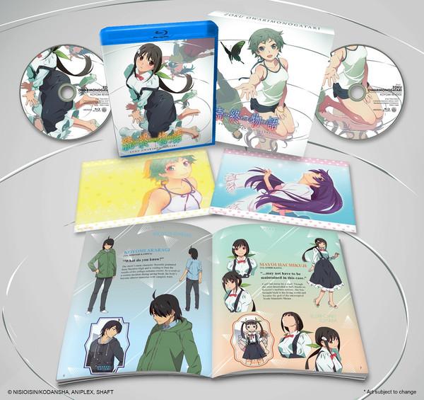 Zoku Owarimonogatari Blu-ray