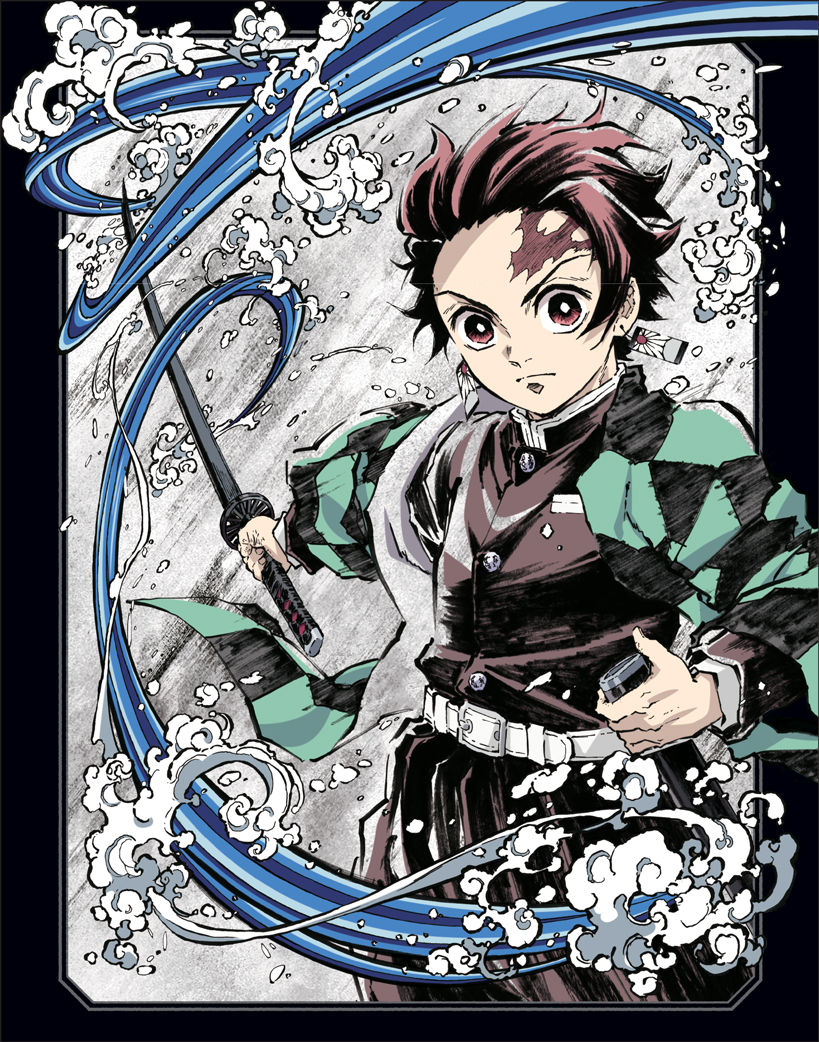 Demon Slayer Kimetsu no Yaiba Volume 1 Limited Edition Blu-ray