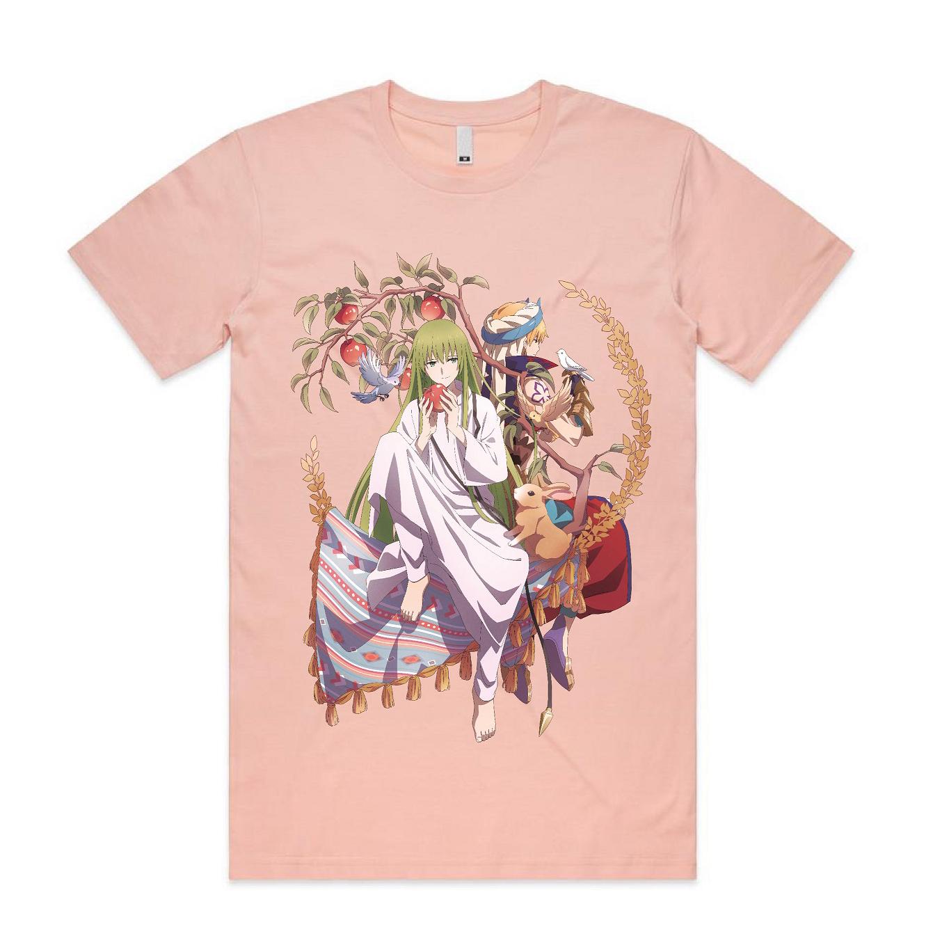 Fate/Grand Order Absolute Demonic Front Babylonia Enkidu and Gilgamesh T-shirt M