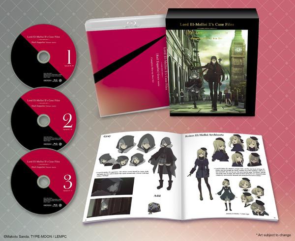 Lord El-Melloi II's Case Files [Rail Zeppelin] Grace note Box Set Blu-ray