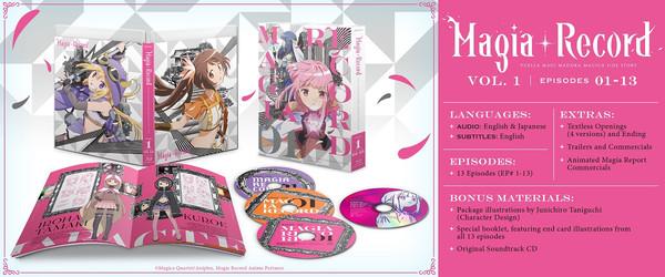 Magia Record Puella Magi Madoka Magica Side Story Volume 1 Blu-ray