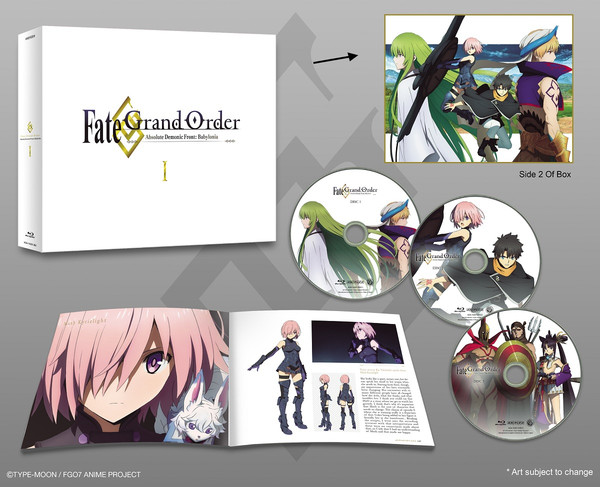 Fate/Grand Order Absolute Demonic Front Babylonia Box Set I Blu-ray