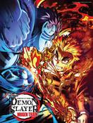 Demon Slayer Kimetsu no Yaiba The Movie Mugen Train Wall Scroll C