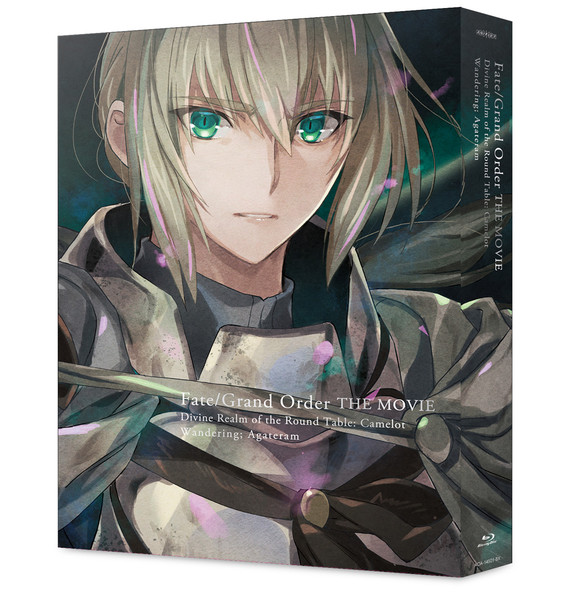 Fate/Grand Order THE MOVIE Divine Realm of the Round Table Camelot Wandering Agateram Blu-ray