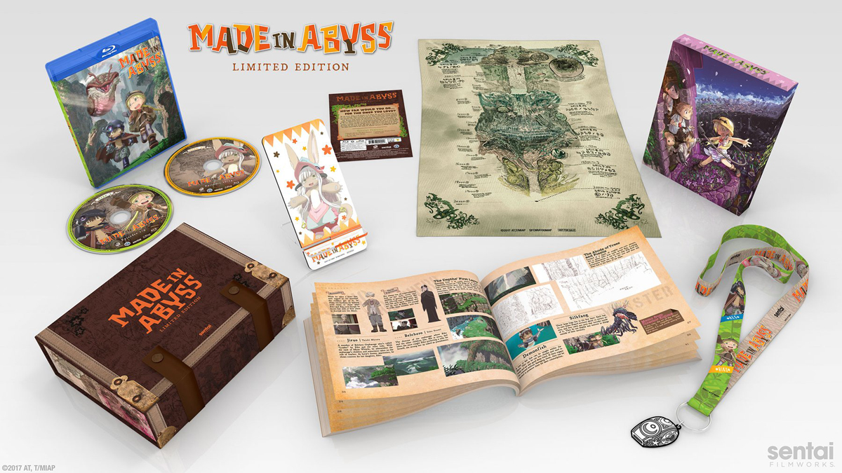 Made In Abyss Premium Box Set Blu-ray