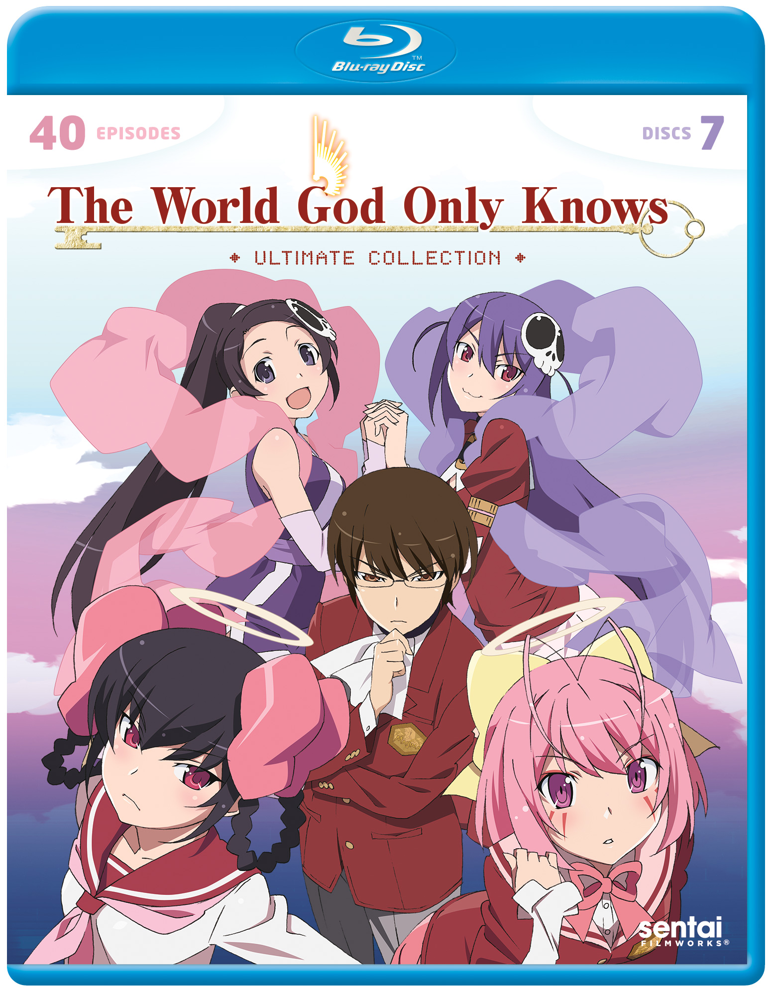 The World God Only Knows Ultimate Collection Blu-ray 816726020105