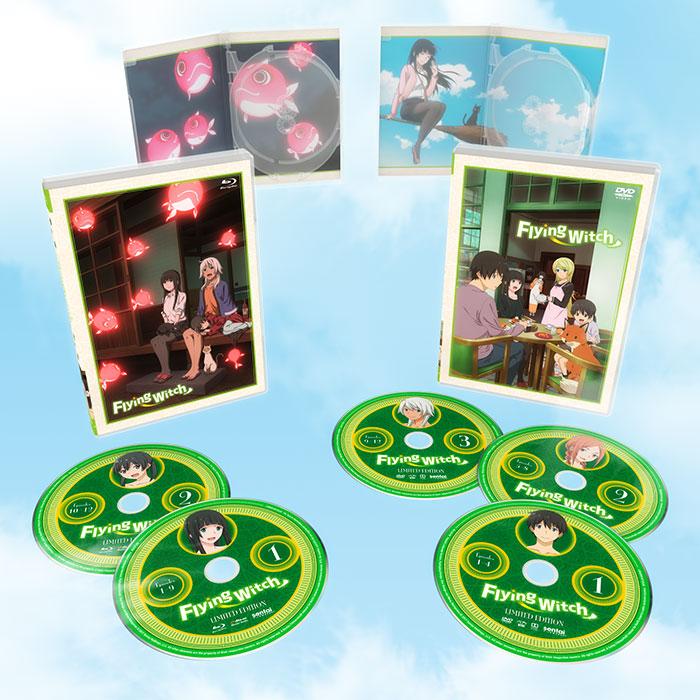 Flying Witch Premium Edition Box Set Blu-Ray/DVD