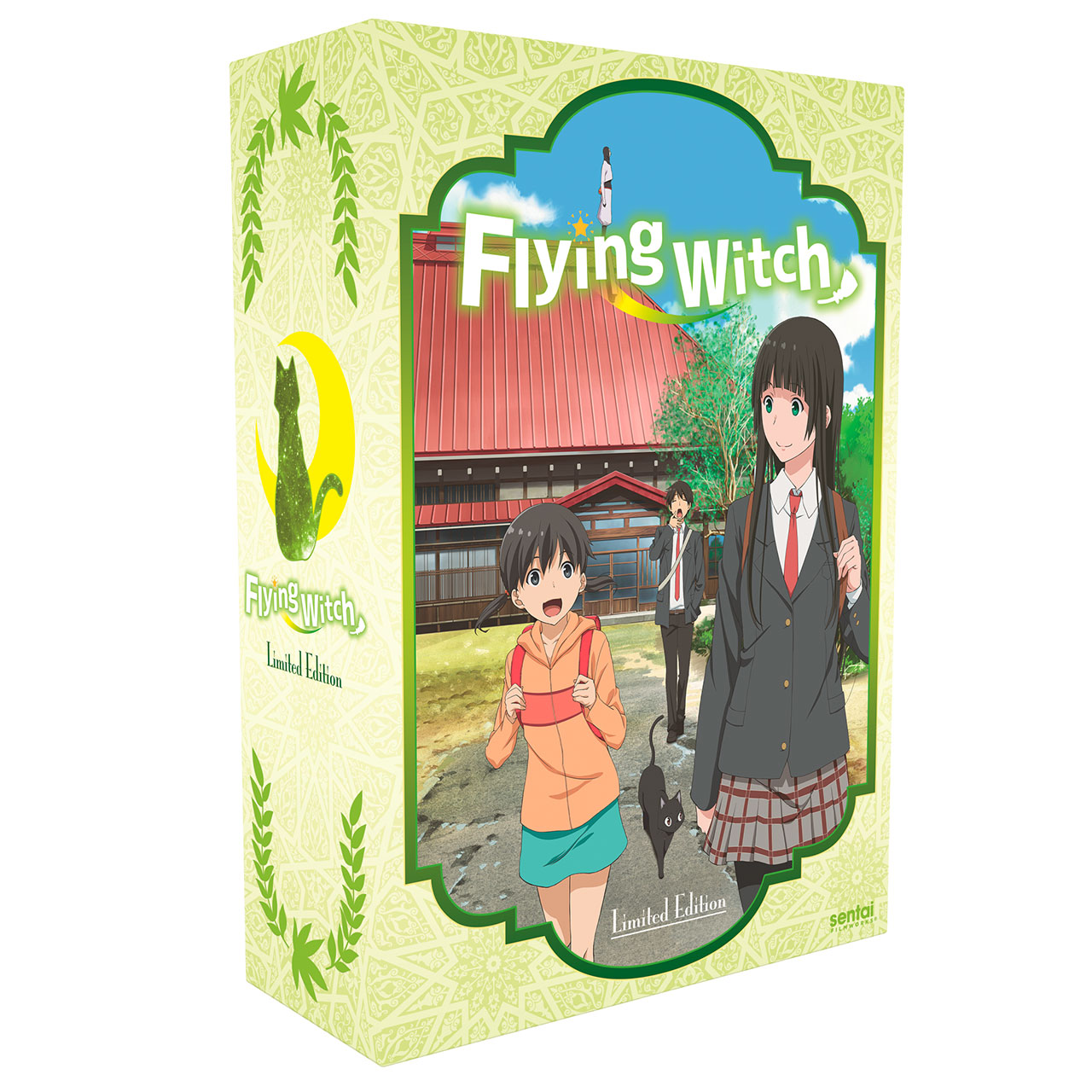 Flying Witch Premium Edition Box Set Blu-Ray/DVD 816726020112