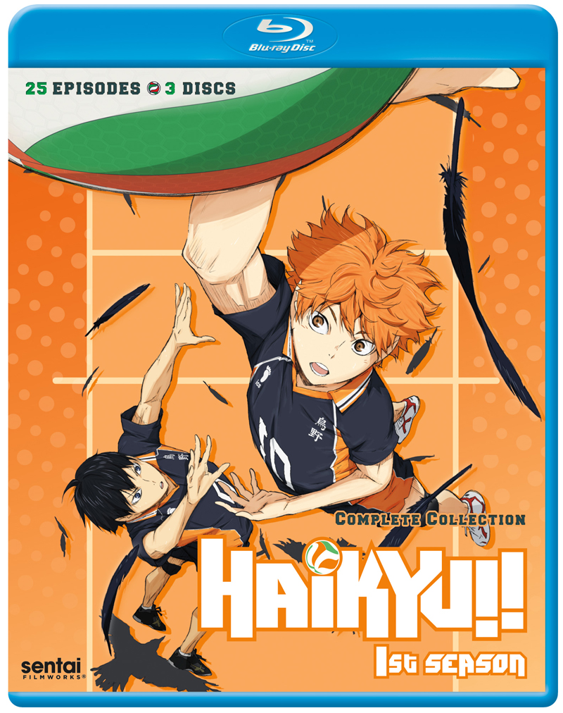 Haikyu!! Season 1 Complete Collection Blu-ray 816726020211