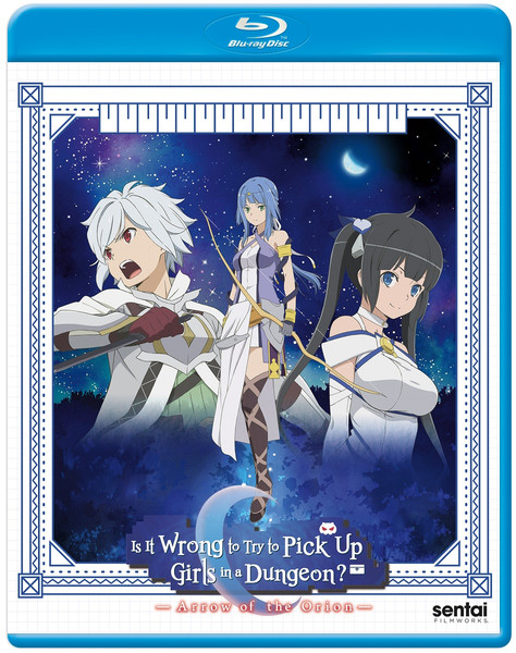 Is It Wrong to Try to Pick Up Girls in a Dungeon? Arrow of the Orion Movie Blu-ray