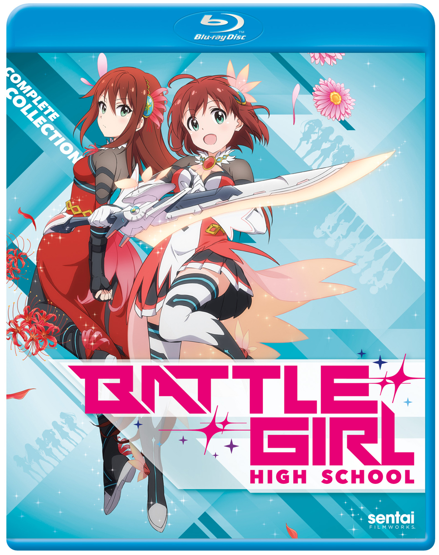 Battle Girl High School Blu-Ray 816726020327