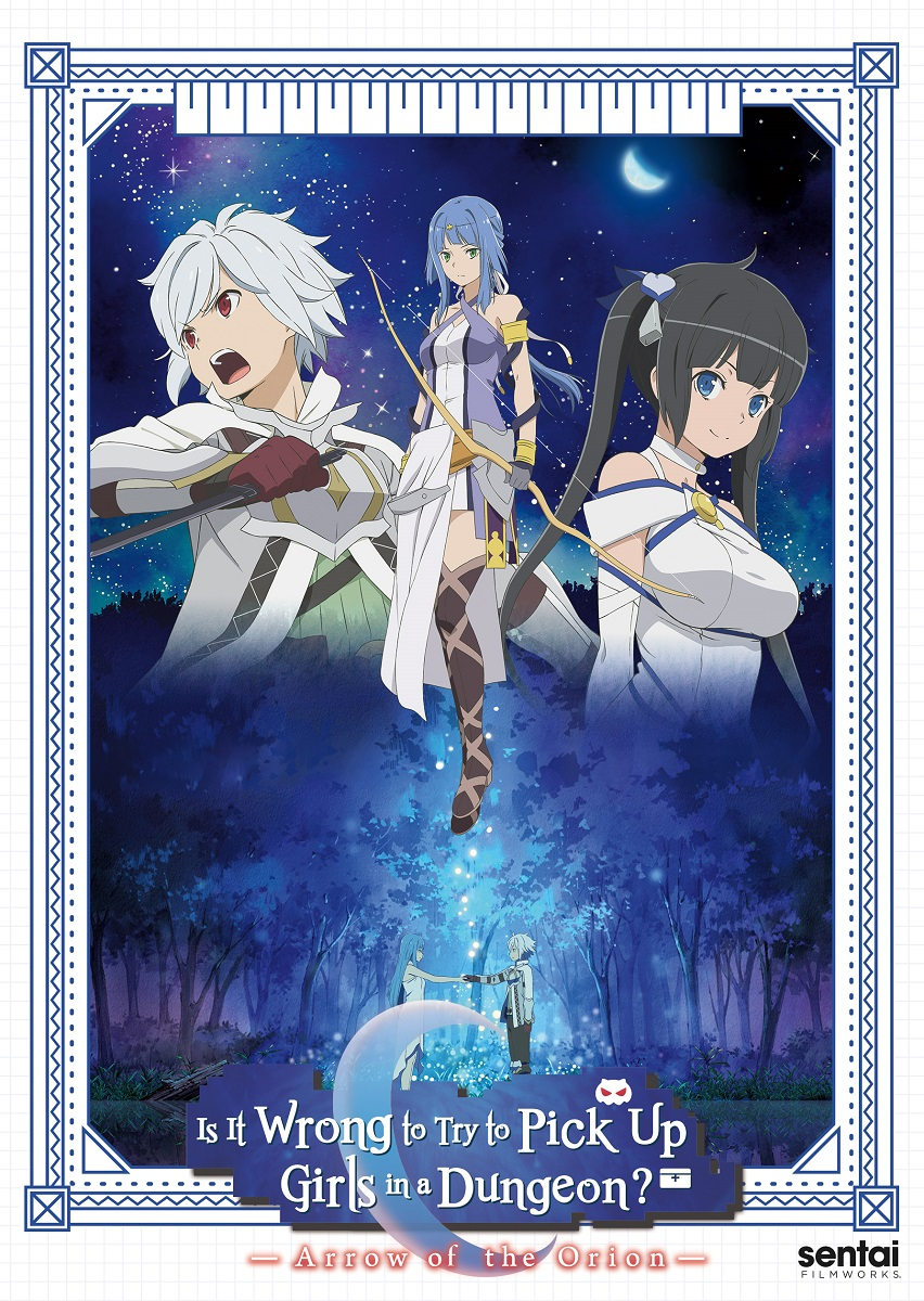Is It Wrong to Try to Pick Up Girls in a Dungeon? Arrow of the Orion Movie DVD
