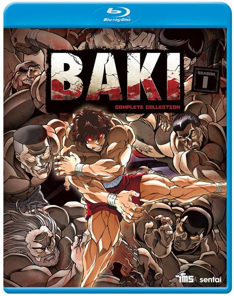 BAKI Blu-ray