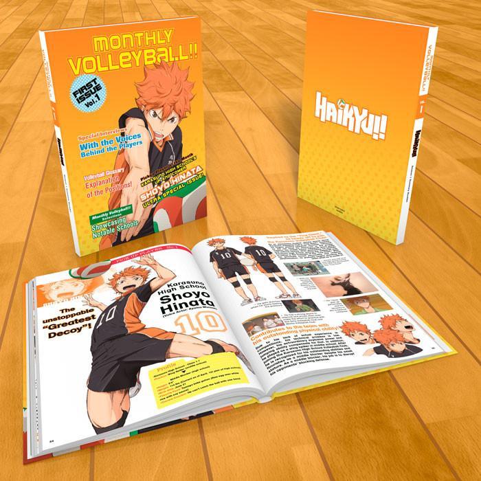 Haikyu!! Season 1 Complete Collection Premium Ed Box Set Blu-ray/DVD
