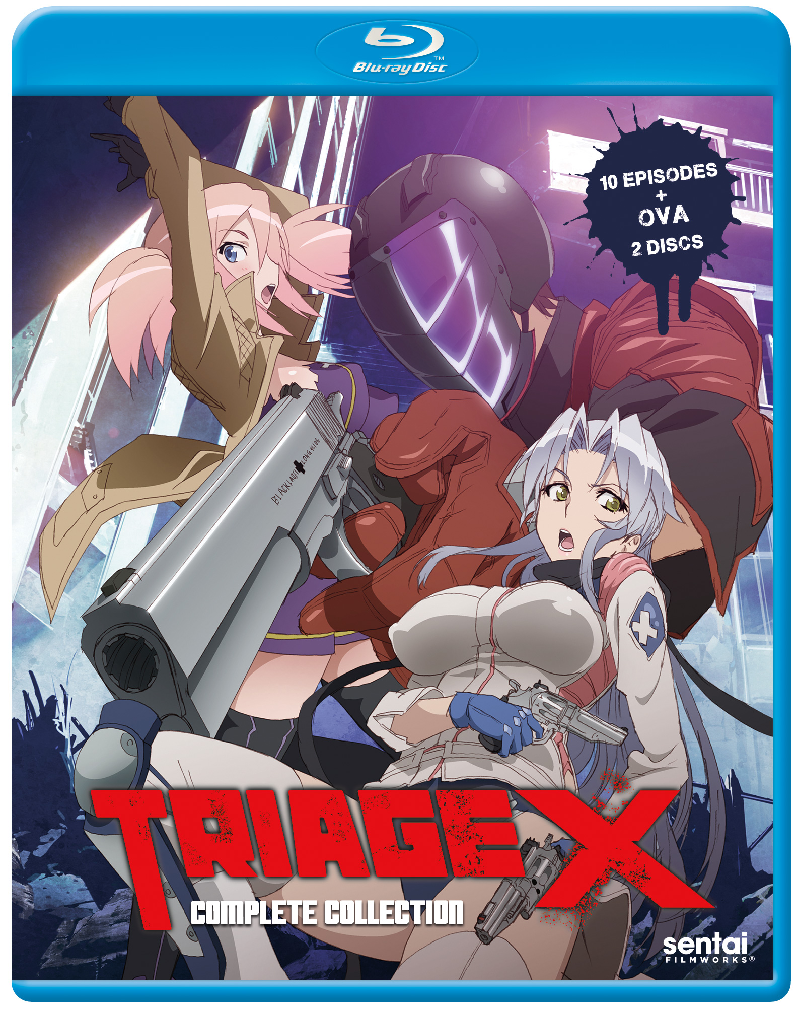 Triage X Blu Ray