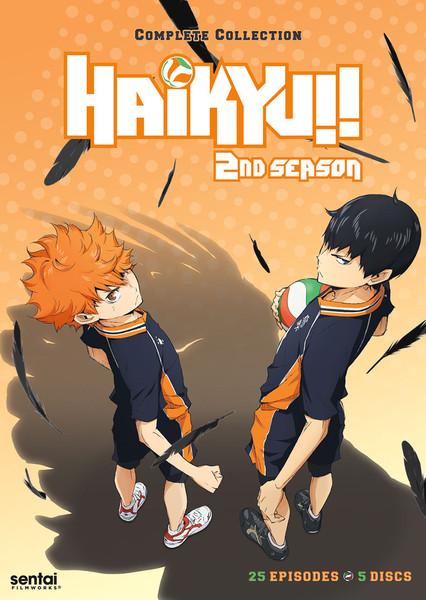 Haikyu!! Season 2 DVD