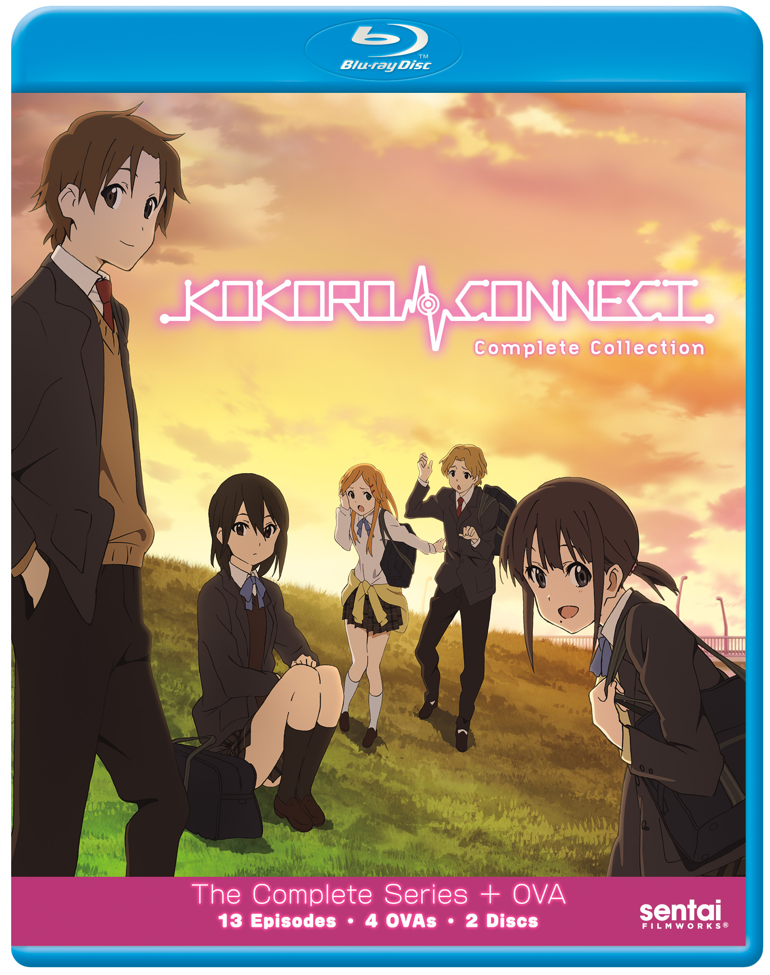 Kokoro Connect Blu-ray 816726020709