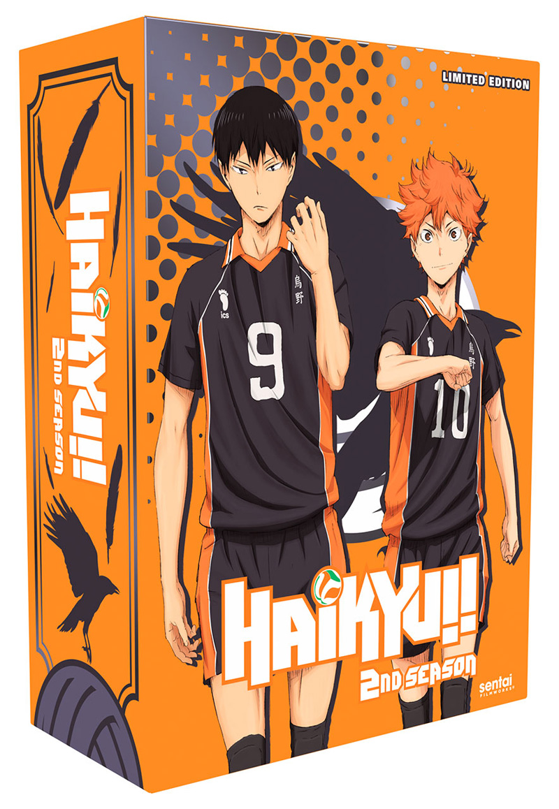 Haikyu!! Season 2 Premium Box Set Blu-ray/DVD 816726020716
