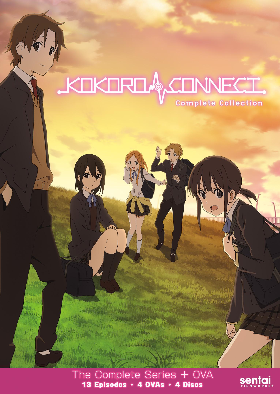 Kokoro Connect DVD 816726020808