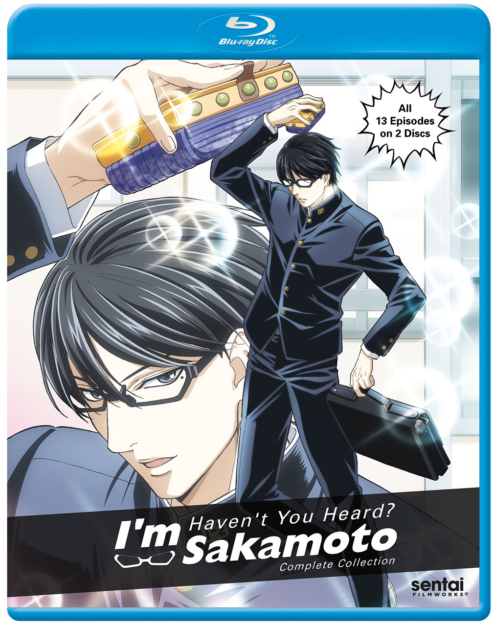 Haven't You Heard? I'm Sakamoto Blu-Ray