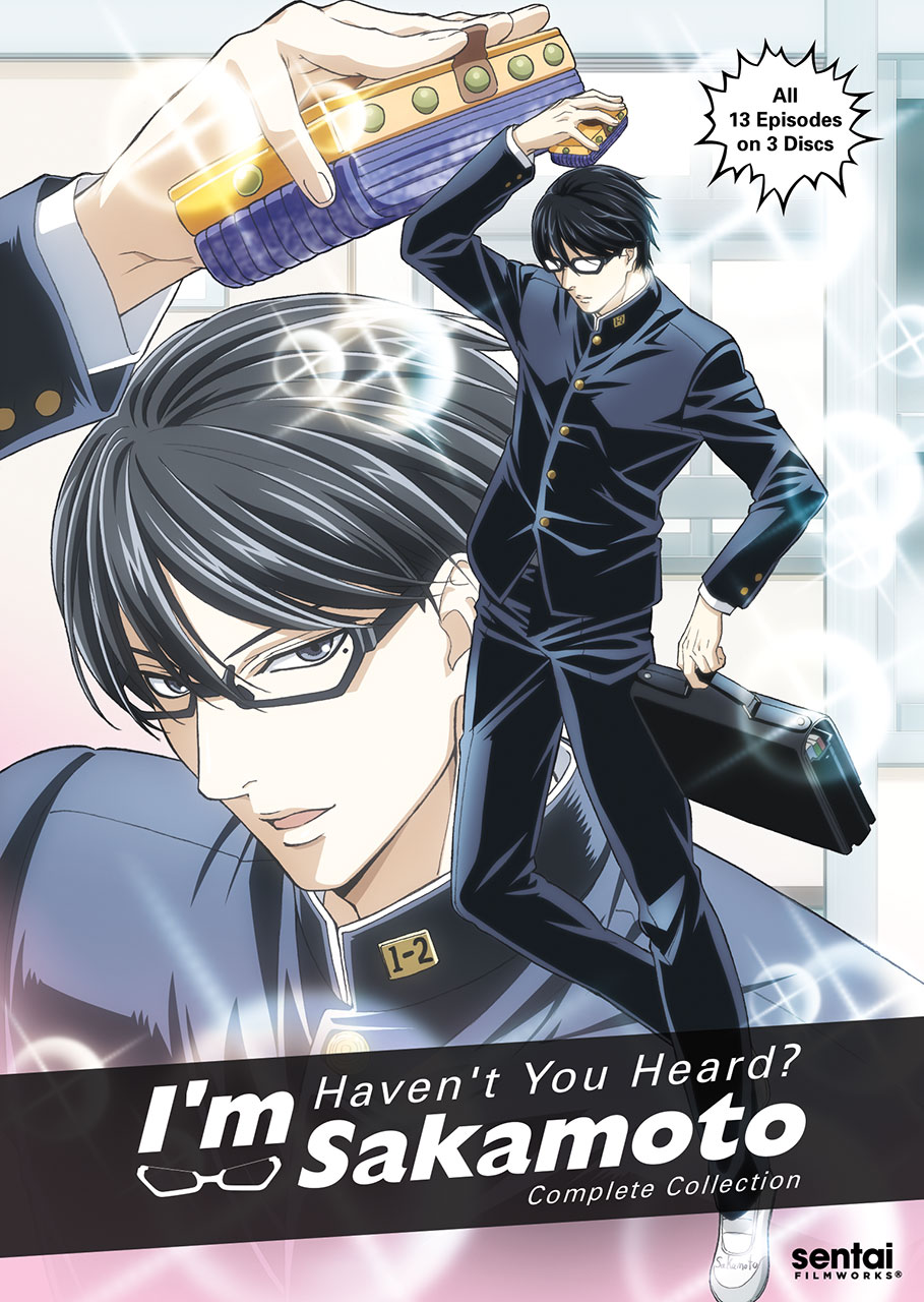 Haven't You Heard? I'm Sakamoto DVD