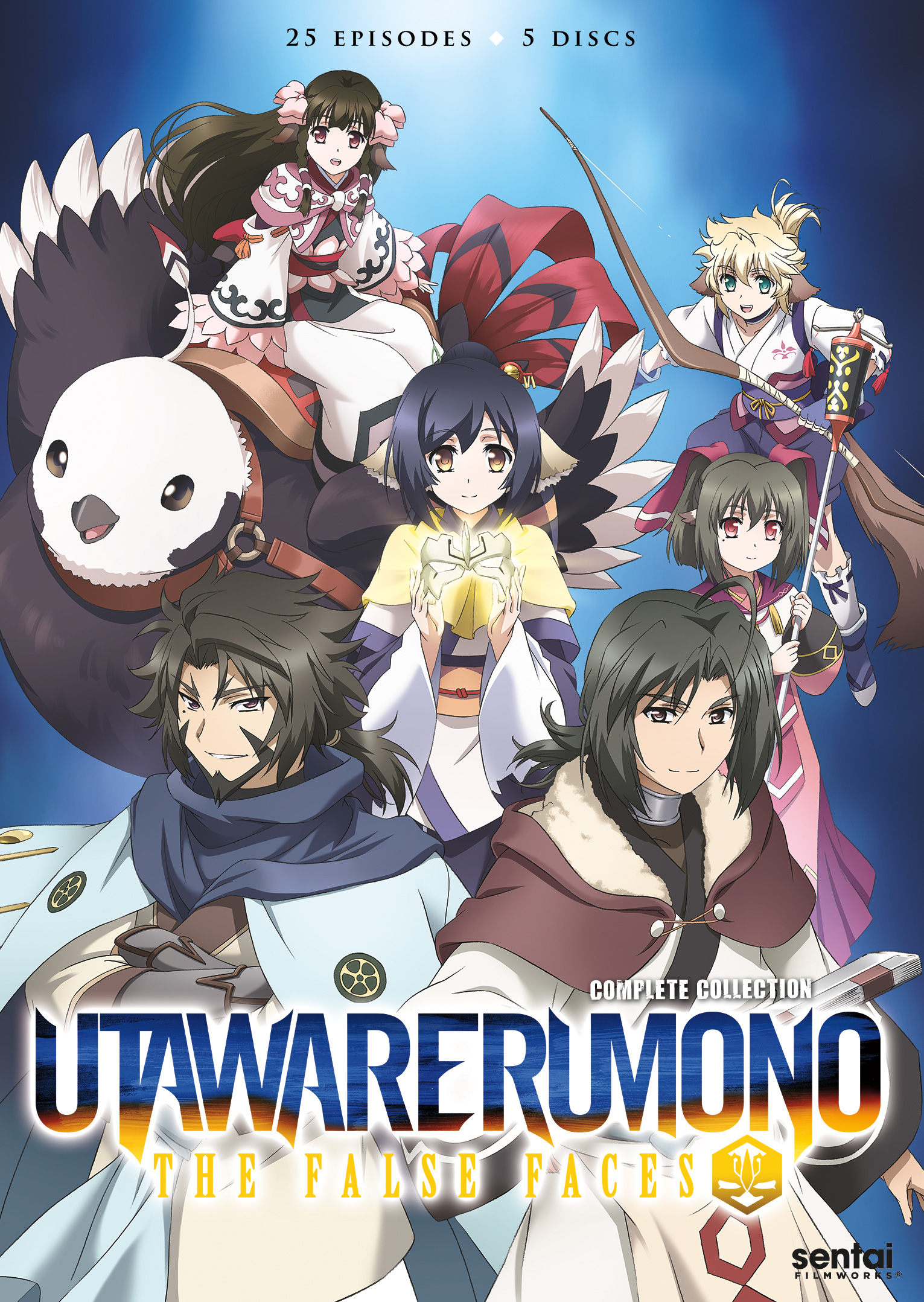 Utawarerumono The False Faces DVD