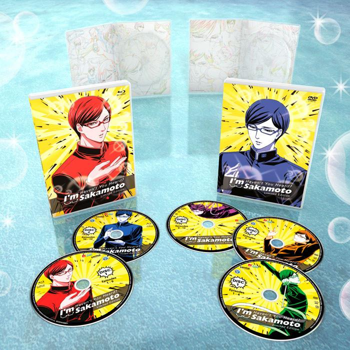 Haven't You Heard? I'm Sakamoto Premium Edition Box Set Blu-Ray/DVD