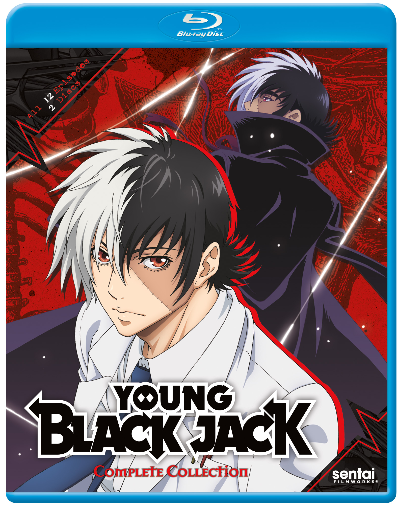 Young Black Jack Blu-ray 816726021102