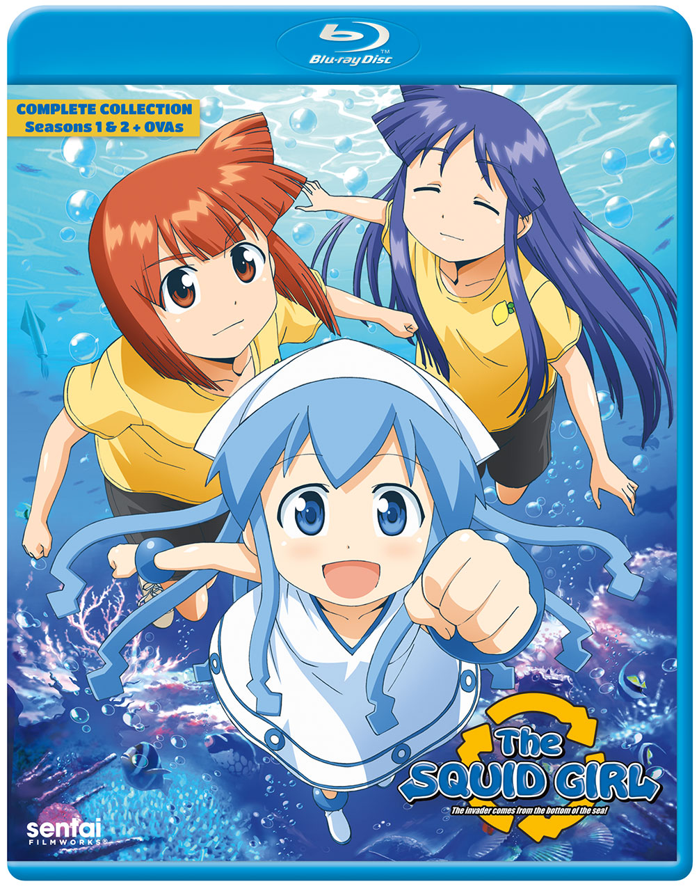 The Squid Girl Blu-Ray 816726021119