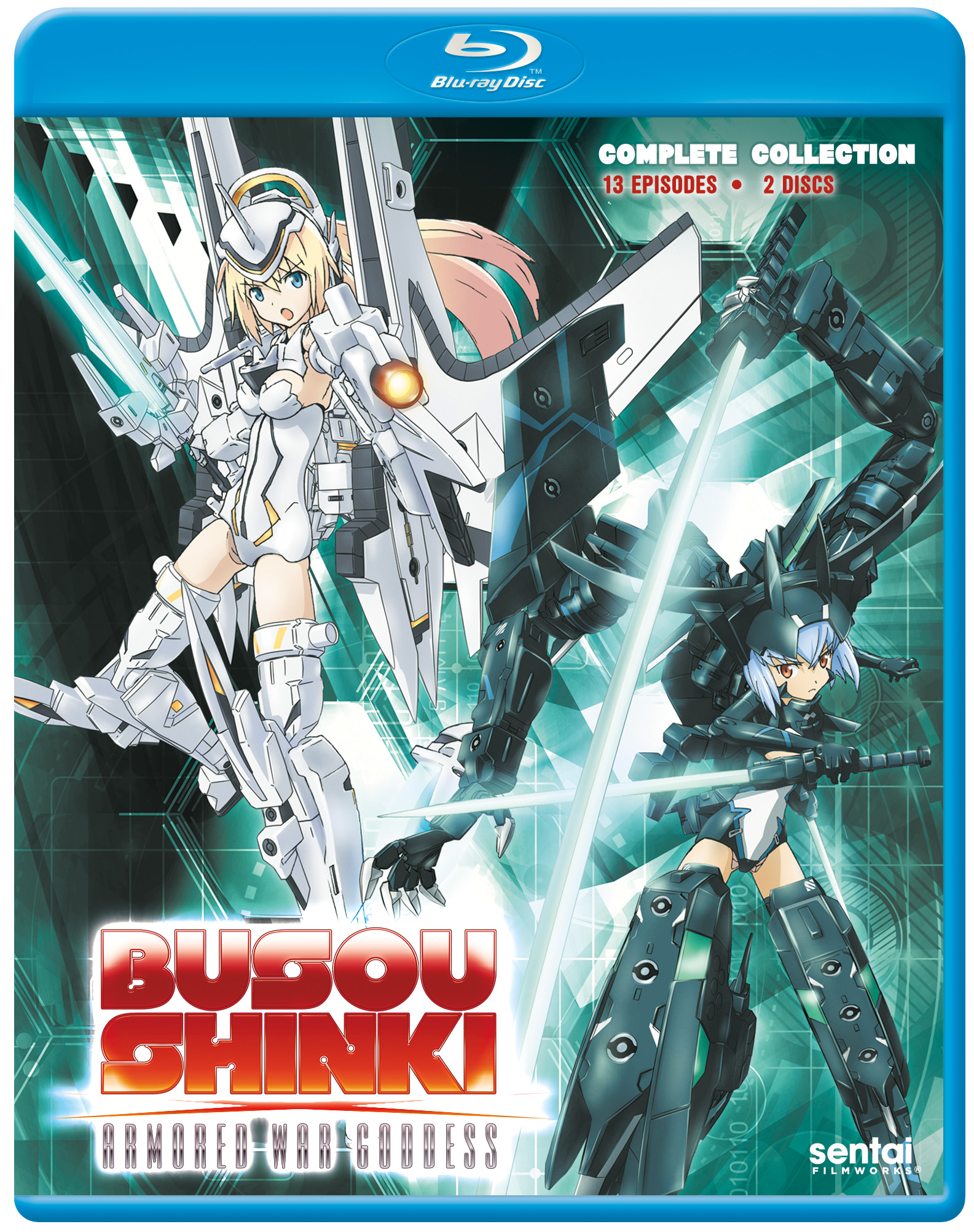 Busou Shinki Blu-ray 816726021300