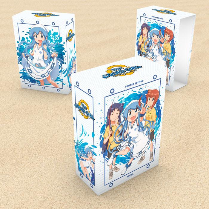 The Squid Girl Premium Edition Box Set Blu-Ray/DVD